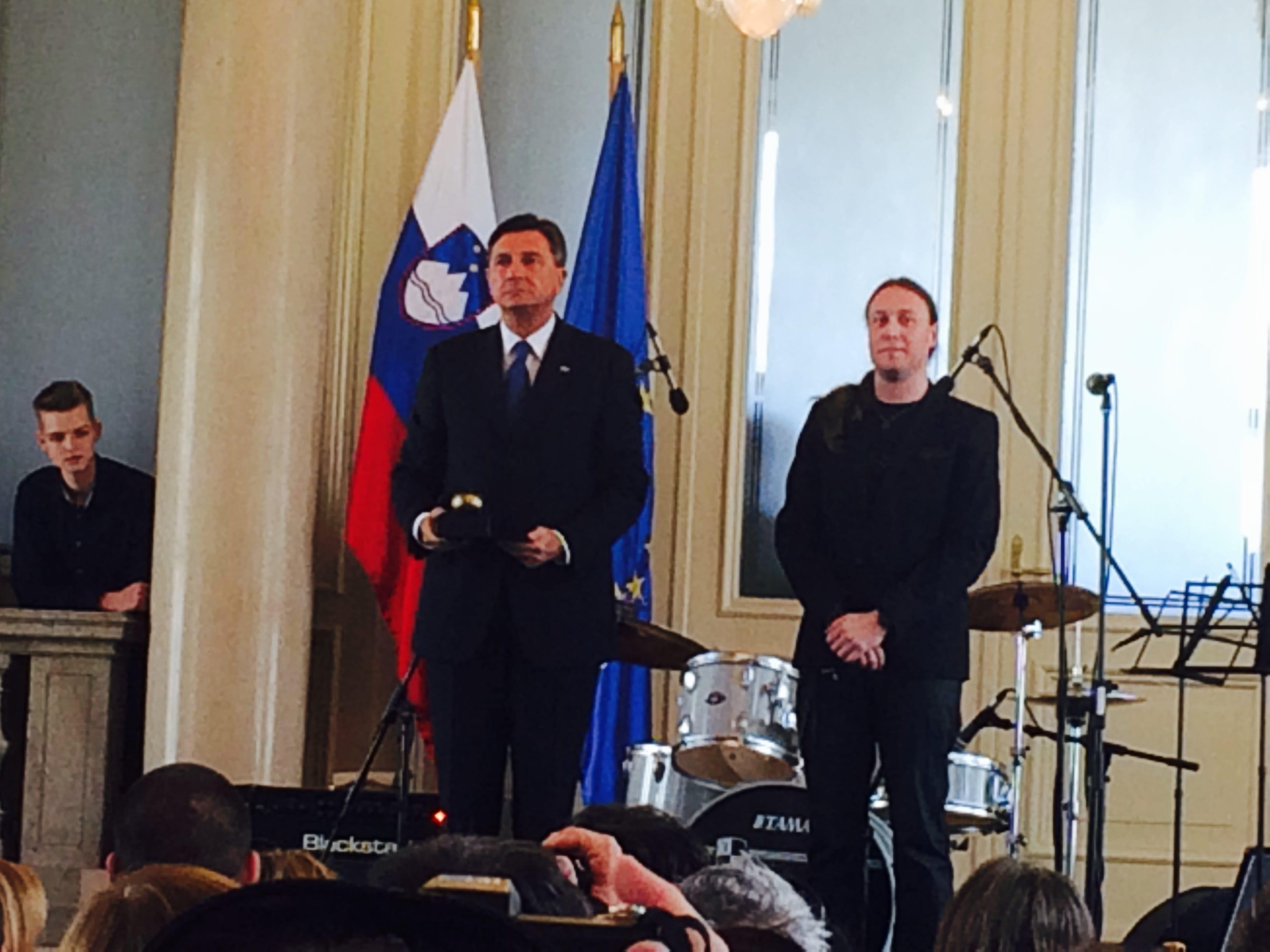 Marko Soršak in Borut Pahor