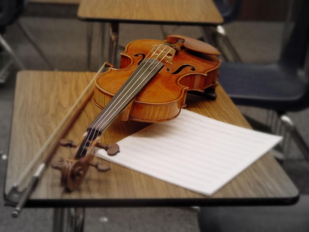 učenje violine