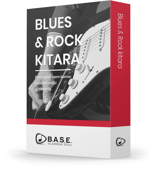 Blues-in-rock-kitara