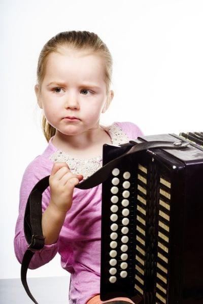 Izbira harmonike za otroka