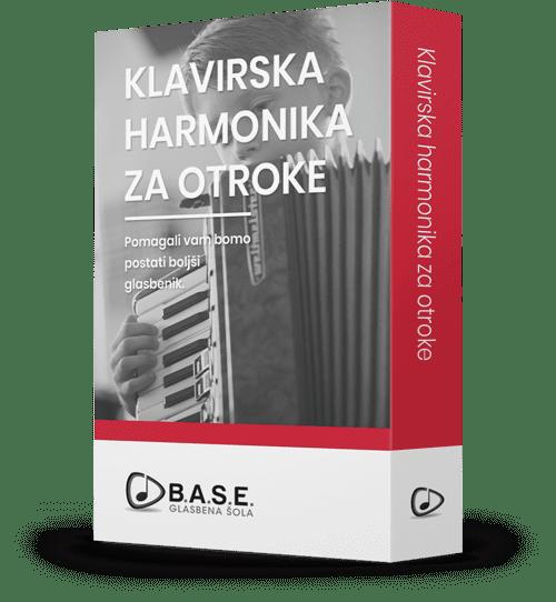 Program učenja Klavirska harmonika za otroke