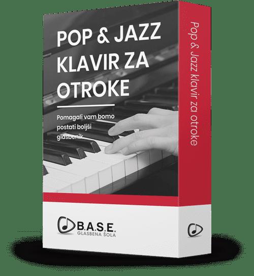 Program učenja Pop in Jazz klavir za otroke