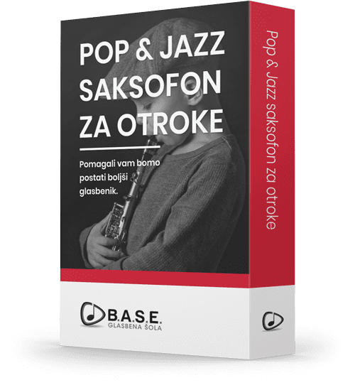 Pop in Jazz saksofon za otroke