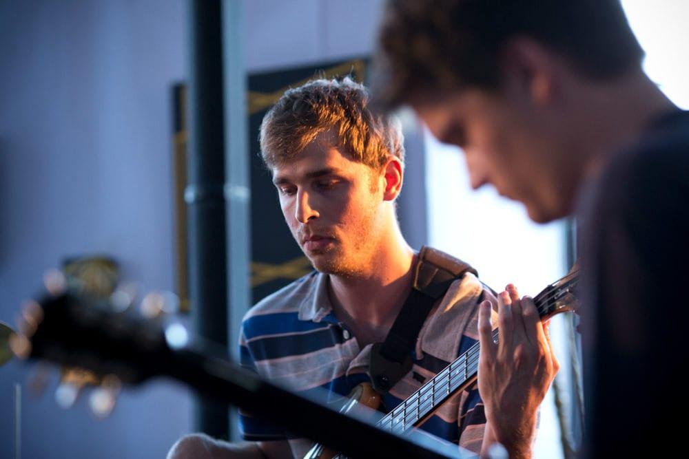 Nastop učenca kitare Glasbene šole B.A.S.E.