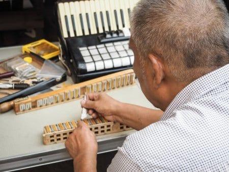 Vzdrževanje harmonike