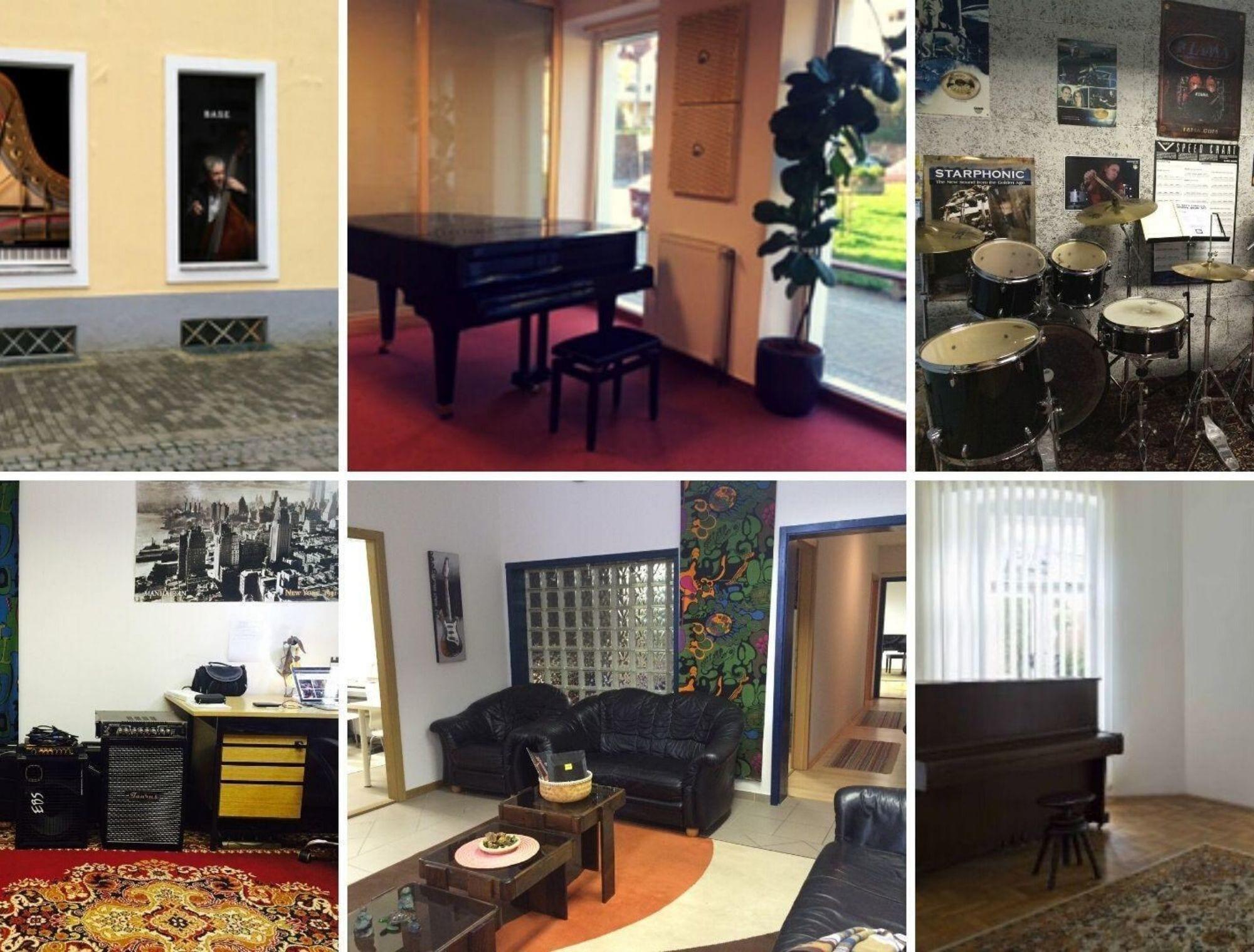 Lokacije Glasbene šole B.A.S.E.